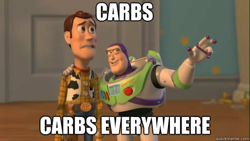 carbs everywhere